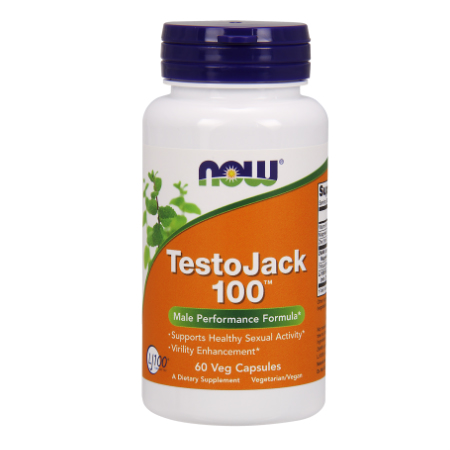Now Foods Testo Jack 100 (100mg) X 60 Vcaps
