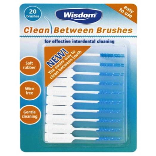 Wisdom Clean Between - Interdental Brushes Fine x 20
