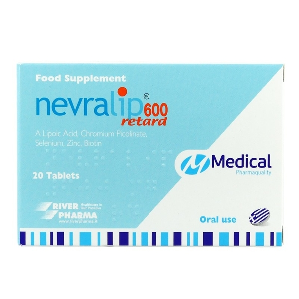 Medical Nevralip 600 Retard X 20 Tabs
