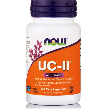 Now Foods Uc-II Undernatured Type II Collagen 800 mg X 60 Vcaps