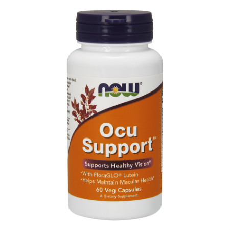 Now Foods Ocu Support With Lutein (Free-Form) X 60 Caps