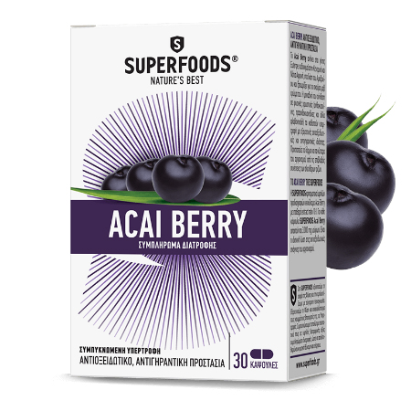 Superfoods Acai Berry  X 30 Caps