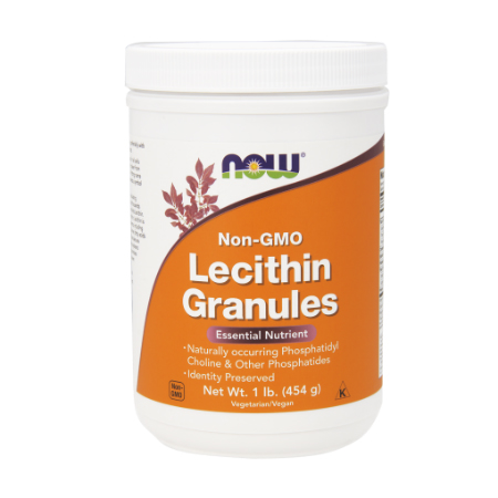 Now Foods Non-Gmo Lecithin granules 454 G