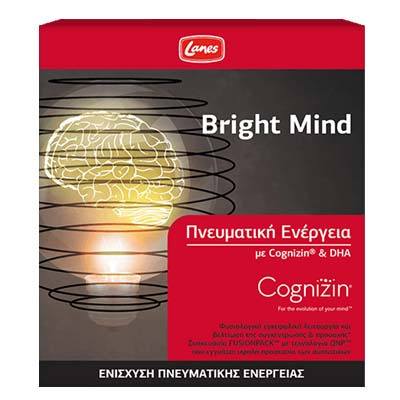 Lanes Bright Mind 10 Φιαλίδια x 10 ml