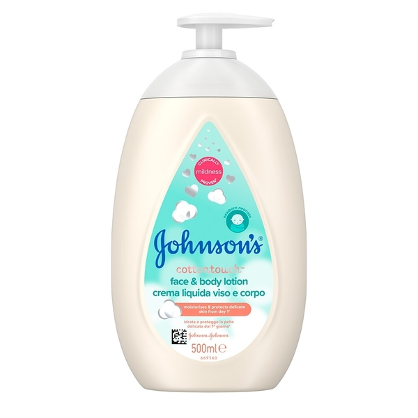 Johnson's Baby Cottontouch Face And Body Lotion 500 ml