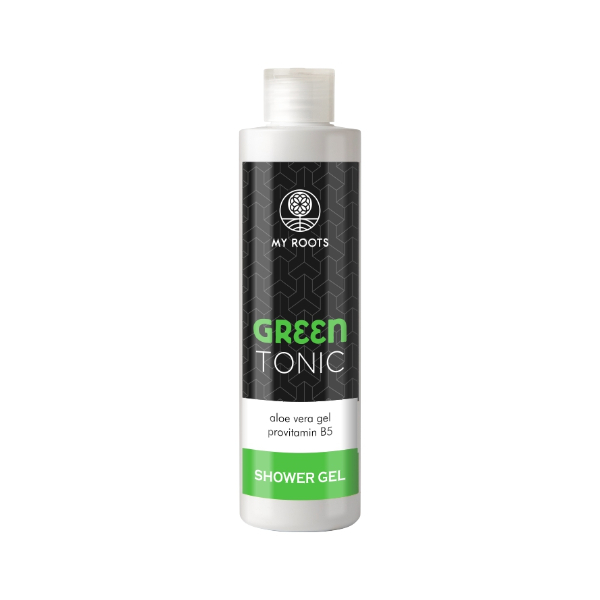 My Roots Green Tonic Shower Gel Aloe Vera 250ml