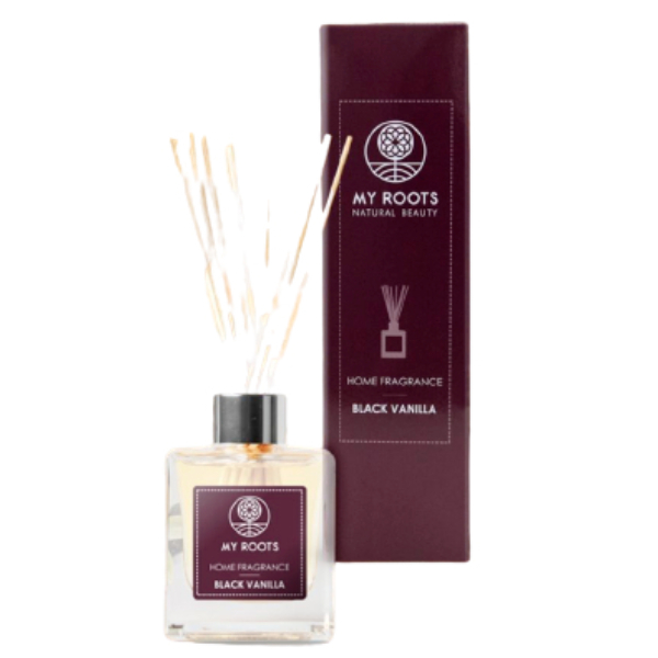 My Roots Black Vanilla Diffuser Sticks 100ml