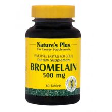 Nature's Plus Bromelain 500mg (Από Ανανά) X 60 Tabs