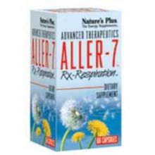 Nature's Plus Aller-7 Rx-Respiration X 60 Veggie Caps