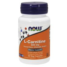 Now Foods L- Carnitine 500 mg X 30 Vcaps