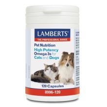 Lamberts High Potency Omega 3 for Cats & Dogs 120 Caps