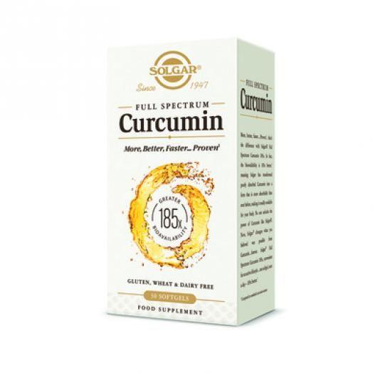 Solgar Full Spectrum Curcumin X 30 Softgels