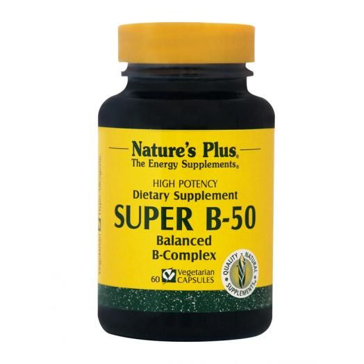 Nature's Plus Super B-50 X 60 Veggie Caps