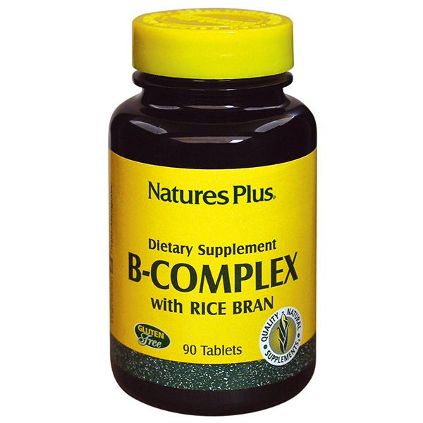 Nature's Plus B-Complex With Rice Bran X 90 Tabs