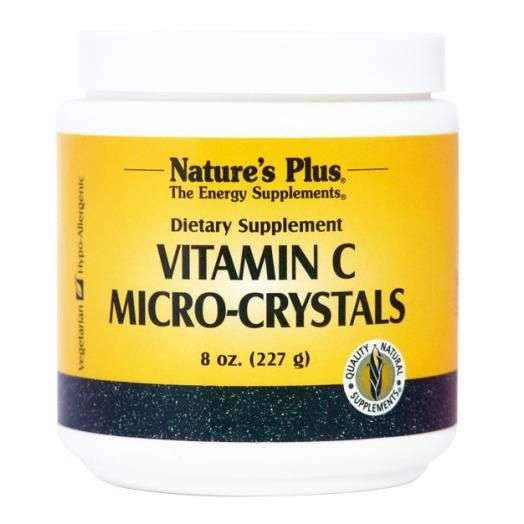 Nature's Plus Vitamin C Micro-Crystal's 227 gr