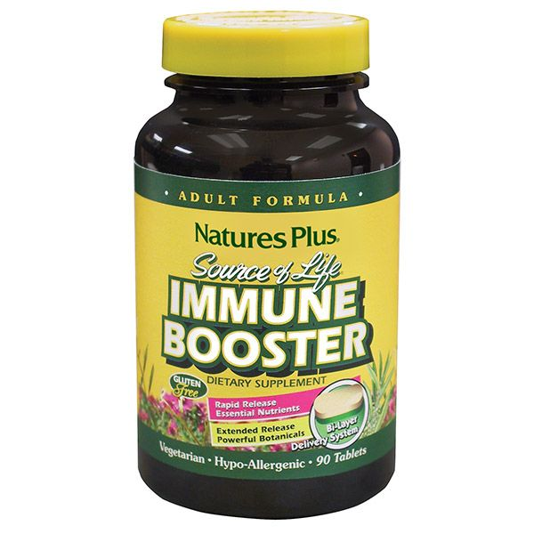 Nature's Plus Adult Immune Booster X 90  Tabls