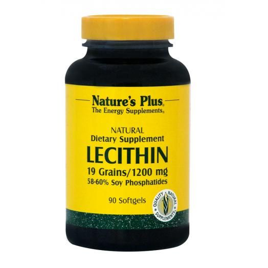 Nature's Plus Lecithin 1200 mg X 90 Soft gels