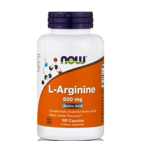 Now Foods L- Arginine 500 mg X 100 Caps