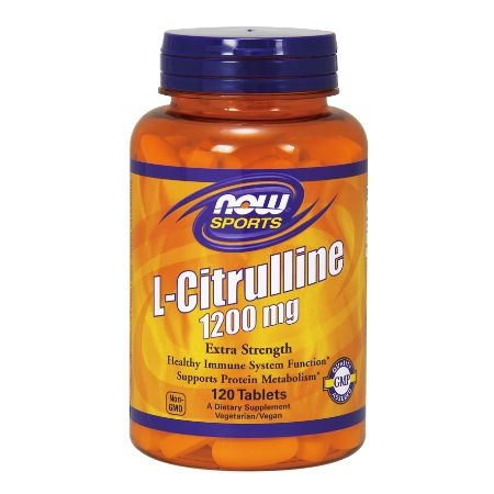 Now Foods L- Citrulline (Now Sports) 1200 mg X 120 Vcaps