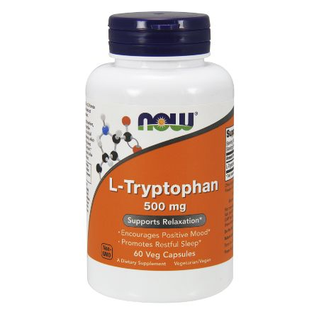 Now Foods L- Tryptophan 500 mg X 60 Vcaps