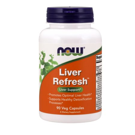 Now Foods Liver Refresh (Detoxifier & Regenerator) X 90 Caps