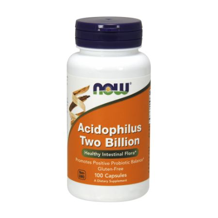 Now Foods Acidophilus 2 Billion X 100 Caps