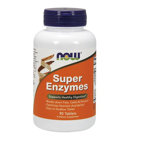 Now Foods Super Enzymes X 90 Tabls