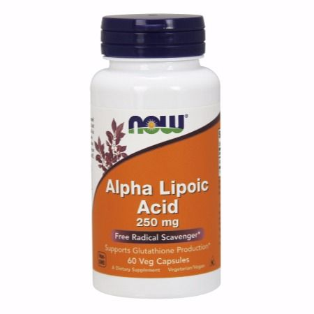 Now Foods Alpha Lipoic Acid 250 mg X 60 Vcaps
