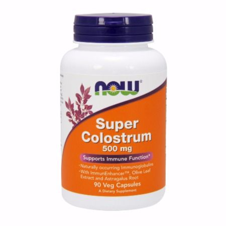 Now Foods Super Colostrum 500 mg X 90 Vcaps