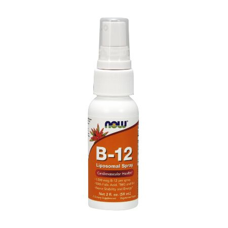 Now Foods B-12 Liposomal Spray 59 ml