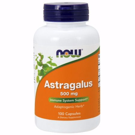 Now Foods Astragalus 500 mg X 100 Caps