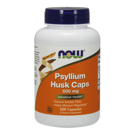 Now Foods Psyllium Husk 500mg X 200 Caps