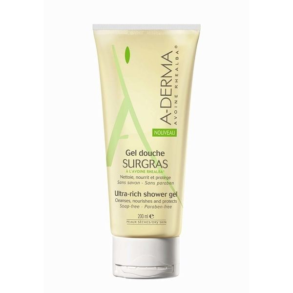 A-Derma Gel Douche Surgras 200 ml
