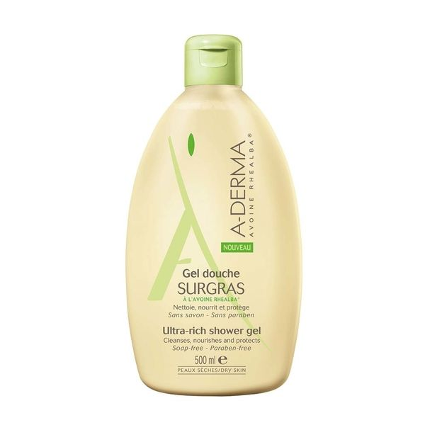A-Derma Gel Douche Surgras 500 ml