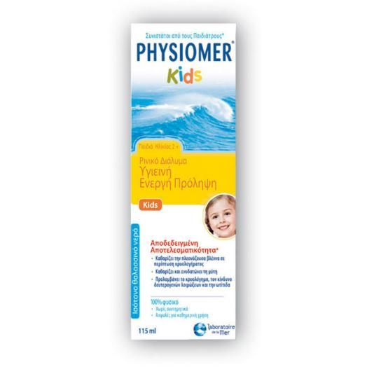 Omega Pharma Physiomer Kids 2+ 115 ml