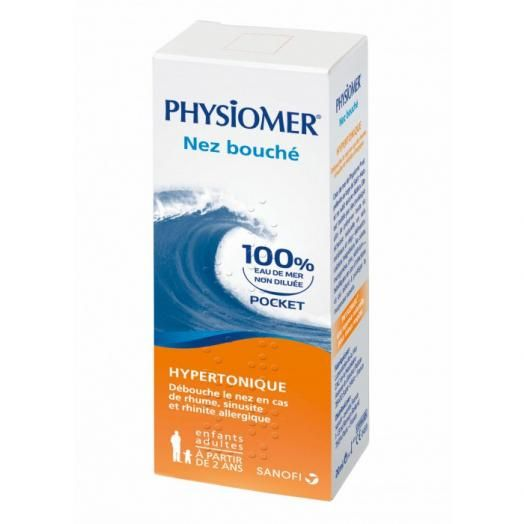 Omega Pharma Physiomer Hypertonic Pocket Size 20 ml