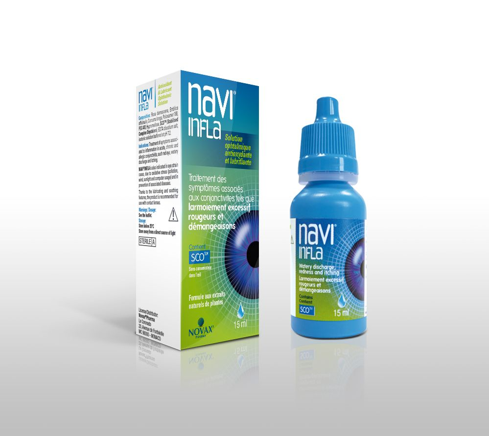 Navi Infla Eye Drops 15 ml
