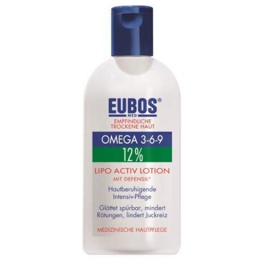 Eubos Omega 3-6-9 12% Lipo Activ Lotion 200 ml