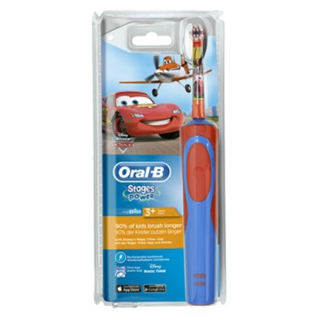 Oral-B Ηλεκτρική Οδοντόβουρτσα Stages Power 3+ Vitality Cars