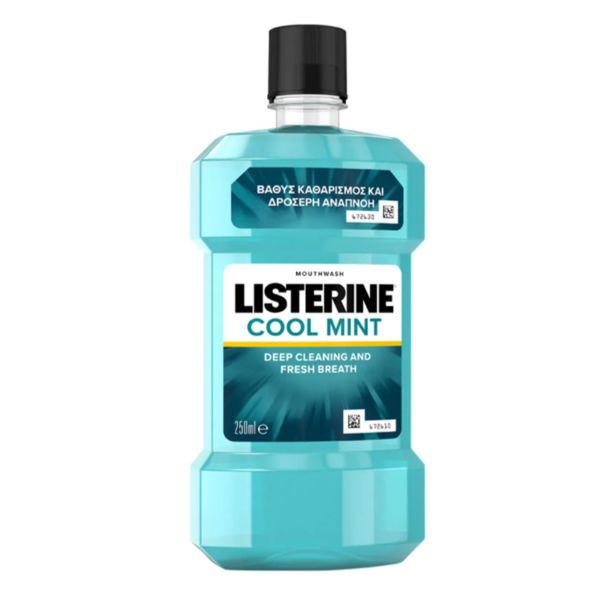 Listerine  Coolmint 250 ml  Μπλε