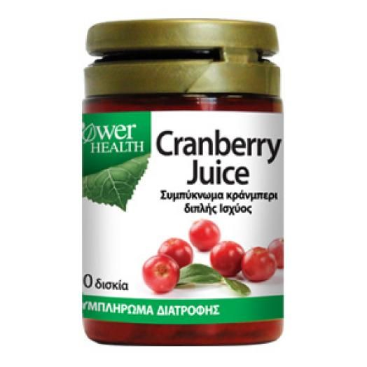 Power Health Cranberry Juice 4500mg X 30 Caps