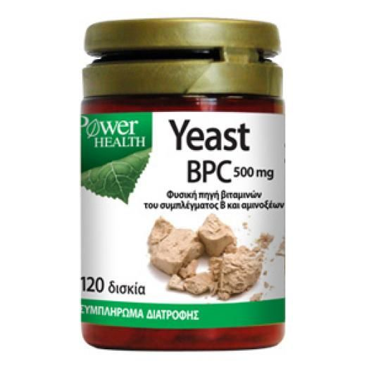 Power Health Yeast 500mg 120 Caps