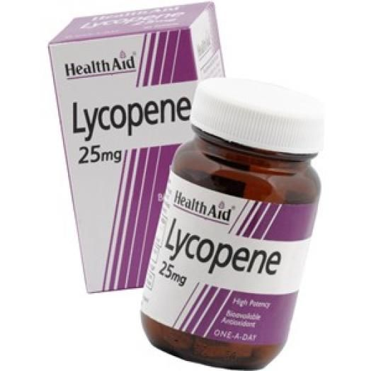 Health Aid Lycopene 25mg Λυκοπένη X 30 Tabs