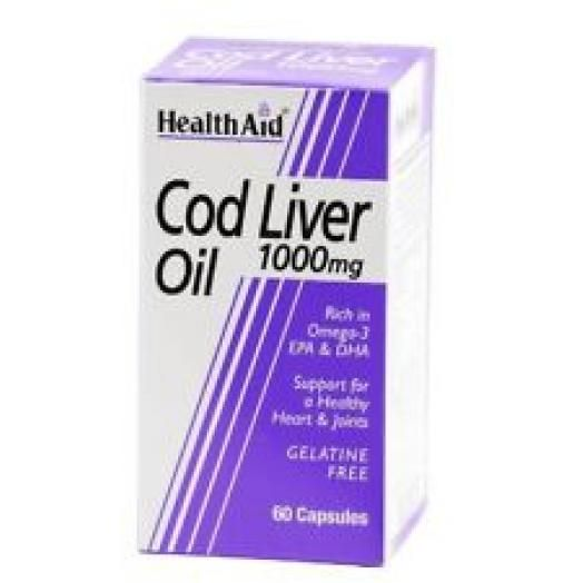 Health Aid Cod Liver Oil 30X1000mg