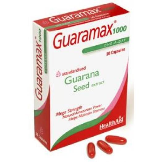 Health Aid Guaramax 1000mg X 30 Caps