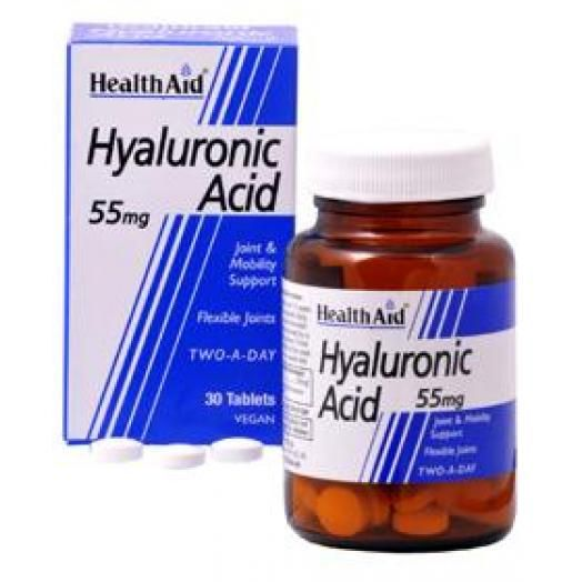 Health Aid Hyaluronic Acid (Υαλουρονικό Οξύ) 30X55mg