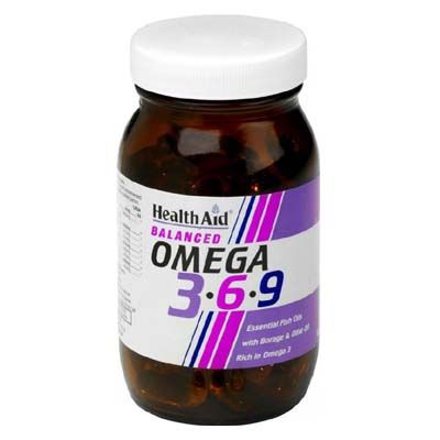Health Aid Omega 3-6-9  (1155 mg) X 90 Caps