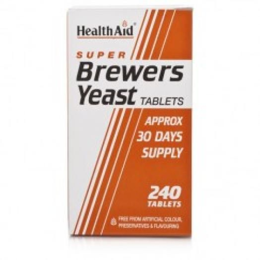 Health Aid Brewers Yeast 300mg X 240 Tabs