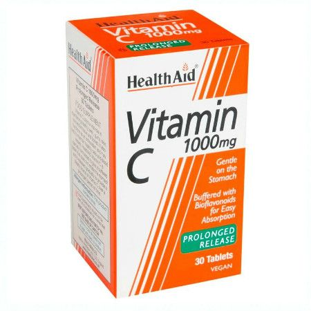 Health Aid Vitamin C 1000mg Prolonged Release X 30 Tabs