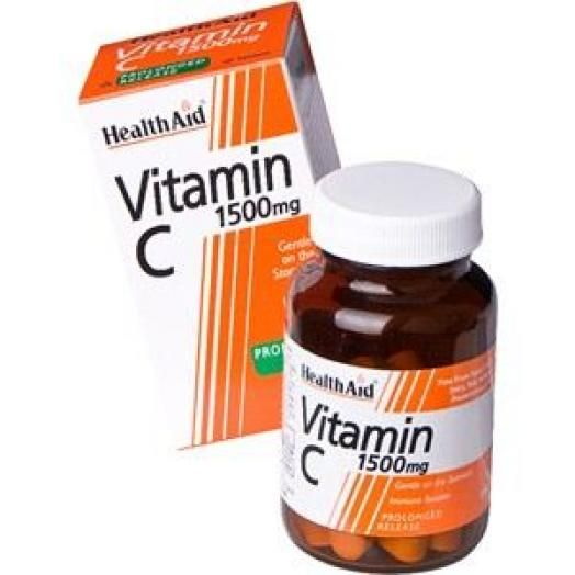 Health Aid Vitamin C 1500mg Prolonged Release 30S Tabs